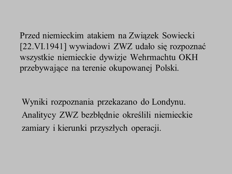 Przed niemieckim atakiem na Związek Sowiecki [22. VI